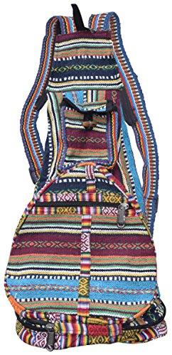 LITTLE KATHMANDU - Bolso mochila para mujer multicolor multicolor Large