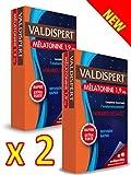 VALDISPERT Horaire décalés - Complexe Favorisant l'ENDORMISSEMENT - Mélatonine orodispersibles 1,9 mg - Lot de 2 Boites de 40 Comprimés