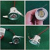 10er 3W LED Einbaustrahler Minispot Einbauleuchte Strahler Licht Deckenleuchte Warmweiß