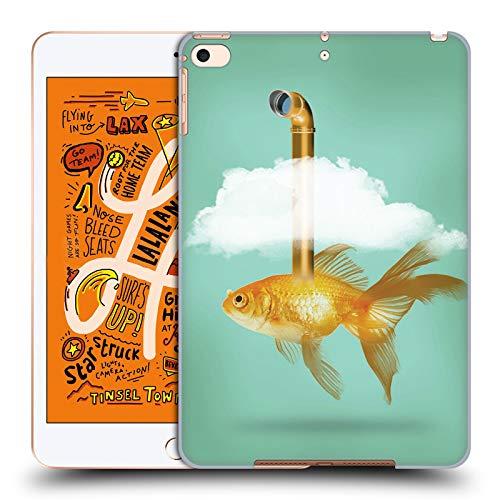 fizielle Vin Zzep Periskop Goldfisch Fisch Harte Rueckseiten Huelle kompatibel mit iPad Mini (2019) ()