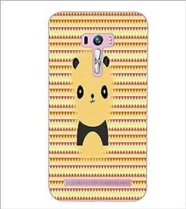 PrintDhaba Cartoon D-5061 Back Case Cover for ASUS ZENFONE SELFIE ZD551KL (Multi-Coloured)