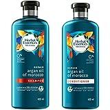 Herbal Essences Bio Renew Argan Oil Of Morocco Shampoo, 400 ml with Herbal Essences Bio Renew Argan Oil Of Morocco Conditioner, 400 ml