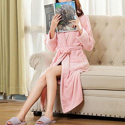 Asdomo - Robe de chambre - Femme Rose