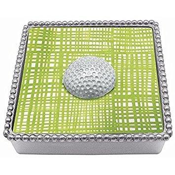 Mariposa Golf Ball (Mariposa White Golf Ball Beaded Box by Mariposa)