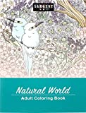 Sargent Art 98-0100 Natural World Adult Colouring Book, Paper, Multi-Colour, 27.3 x 21