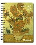 2019 Van Gogh Deluxe Diary- teNeues - 16.5 x 21.6 cm