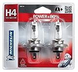 Michelin 008734 Power +80% 2 Ampoules H4 12 V 60 / 55W