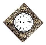 Brown Village antique Camel Wall clock