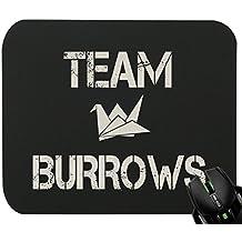 TLM Team Burrows Tapis de souris pour le jeu et la conception graphique 230 x 190 x 5 mm 230x190x5mm