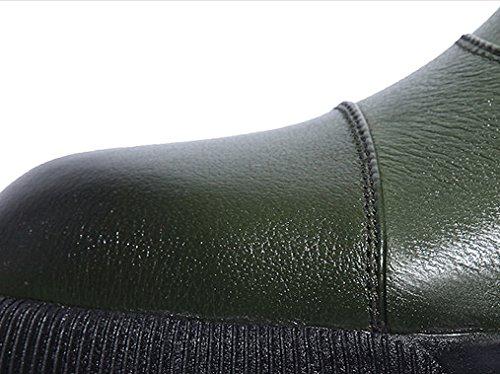 Laruise , Desert boots femme Vert foncé