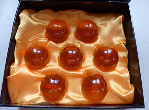 Dragon Ball Z Crystal Ball Set 7 Kugeln 4,3cm Durchmesser Anime Dragonball sofort Lieferbar C50022 (Dragon Ball Z Set)