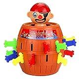 Nettes pädagogisches Spielzeug Pirate Funny Barrel Desktop Toys Piratenschaufel...