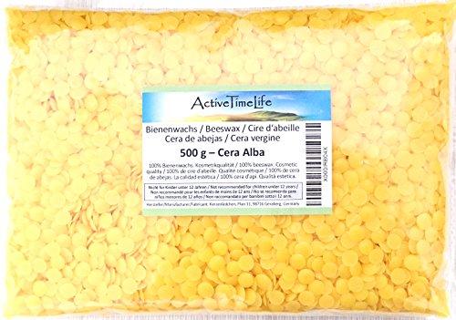 100% reine Bienenwachs Pastillen, 500 g