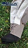 Bison transpirable Mono cintura completa con fieltro o suela de goma botas de vadeo