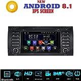 Android 8.1 GPS DVD USB SD Wlan Bluetooth Autoradio Navi kompatibel mit BMW E39 BMW X5 E53 BMW M5 BMW E38