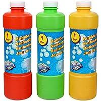 S/O 1 litre Eau savonneuse à bulles Recharge idéale pour Bulle Pistolets Barres Bulles De Savon Lye (0112)