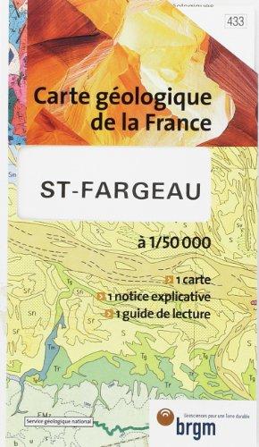 Carte géologique : Fargeau