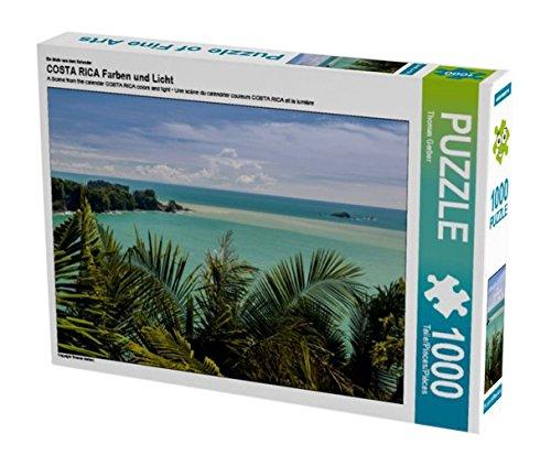 Preisvergleich Produktbild Ein Motiv aus dem Kalender COSTA RICA Farben und Licht 1000 Teile Puzzle quer (CALVENDO Natur)