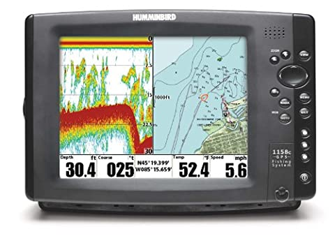 Humminbird 407980-1M 1158CX Combo CHO Multifunction GPS Colour Display excluding