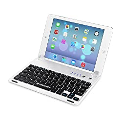 TeckNet X360 Keyboard Cover für iPad Air: Diese Tastatur ist speziell für das iPad Air der 1.Generation entwickelt worden und ergänzt dieses durch das dünne, leichte Design perfekt. Ein Mini Laptop: Die X360 ist mit einer Abdeckung ausgestattet,...