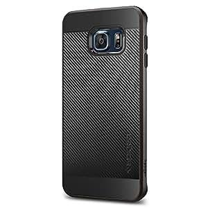 Spigen Neo Hybrid Coque de protection à double couche pour Samsung Galaxy S6 Edge Plus Gun Metal