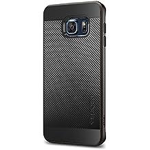 Spigen SGP11704 - Funda para Samsung Galaxy S6 Edge+, Negro