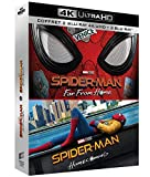 Locandina Coffret spider-man 2 films : homecoming ; far from home 4k ultra hd