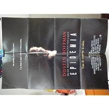 Original Spanish Movie Poster Outbreak Epidemia Morgan Freeman Dustin Hoffman Rene Russo