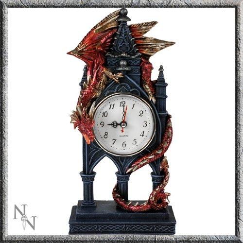 Tiempo Guardian reloj de dragón en el baño