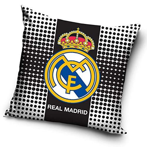 Funda de cojín del Real Madrid CF - 36 x 36 cm. (Sin relleno)