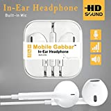 #6: Mobile Gabbar Earphone With Mic / Headphones With Mic Compatible with Samsung, Motorola, Sony, Oneplus, HTC, Lenovo, Nokia, Asus, Lg, Coolpad, Xiaomi, Micromax and All Android Phones having 3.5mm Jack