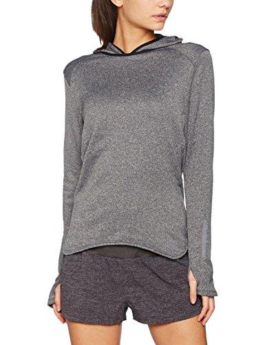 Adidas Response T-shirt pour femme long à capuche Pull à capuche Noir