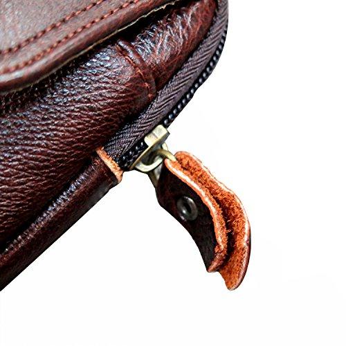 Valentoria - Riñonera Marrón marrón Horizontal