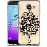 Head Case Designs Beau Introspection Étui Coque en Gel molle pour Samsung Galaxy A3 (2016)
