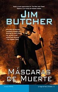 Máscaras de muerte par Jim Butcher