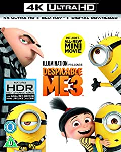 Despicable Me 3 (4K UHD + 2D Blu-Ray + digital download) [2017]