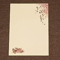 MEICHEN-Amore romantico lettera in stile cinese antico cinese vintage cartoleria carta intestata a colori regali