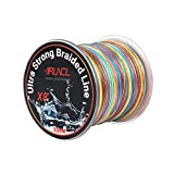 RUNCL Braided Fishing Line with 8 Strands, Fishing Line PE Material 328Yds/300M