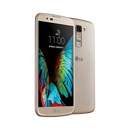 LG K10 4G Dual Sim Mobile Phone (16GB, Black-Gold)