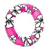 Tauchspielzeug aus Neopren mit Sand befüllt, ideale Schwimmhilfe bzw. Tauchhilfe für Kinder. Das Wasserspielzeug eignet sich fürs Freibad, Schwimmbad, See oder das Meer. Design: Tauchring pink