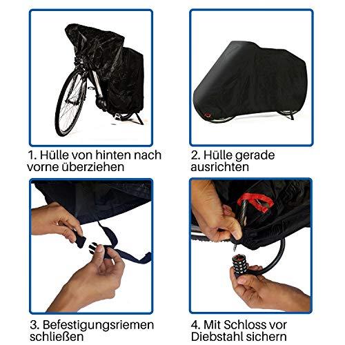 HiLo sports premium Fahrradabdeckung - 7