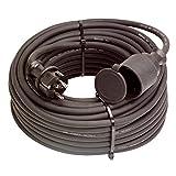 ALLEGRA Stromkabel Verlängerung für den Außenbereich, Strom Verlängerungskabel Außen 20m 220V/16A IP44 H07RN-F 3G 2.5 mm