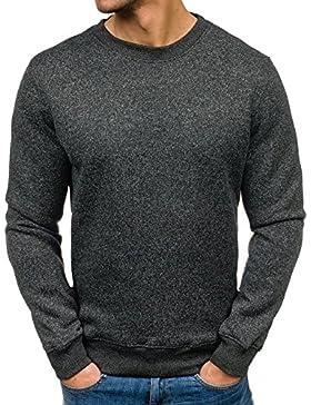 BOLF – Felpa senza cappuccio – Pullover – Sweat-shirt – T&C STAR TC21 – Uomo