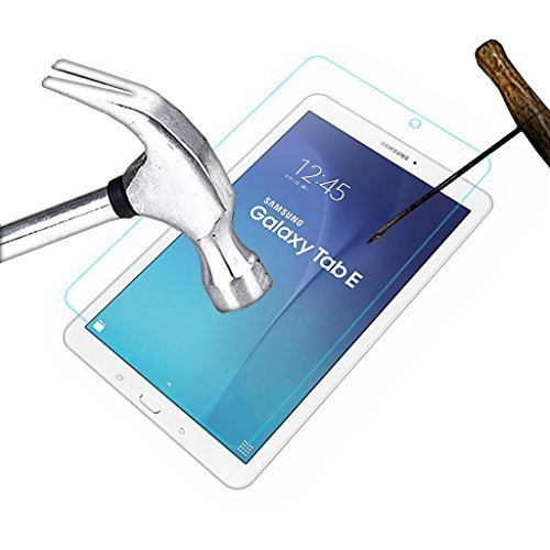 ACM Tempered Glass Anti Scratch Proof Protector for Samsung Galaxy Tab E 9.6 Tablet