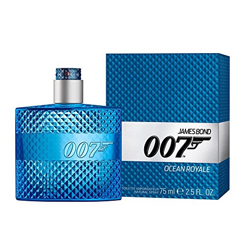 James Bond 007 Ocean Royale Eau de Toilette Natural Spray, 75 ml (Parfüm Kaffee,)