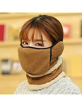 Full face cuffie auricolari caldo freddo outdoor sci antivento, maschere maschere antipolvere, collari per uomini...