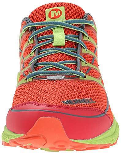 Merrell Mix Master Move 2, Chaussures de Trail Homme Rouge (Red/Lime Green)
