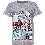 BEZLIT Coole Motiv T-Shirt Klassische Strech 21838, Farbe:Grau, Größe:116