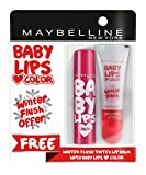 #3: Maybelline New York Baby Lips, Winter Flush, 4.4g and Baby Lips, Berry Crush, 4g