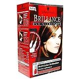Schwarzkopf Brillance Duo-Glamlights/ Rot- und Blond-Ton/ 2- farbige Strähnchen/ Dauerhafte Coloration/ Granatrot & Bernstein/ Haarfarbe